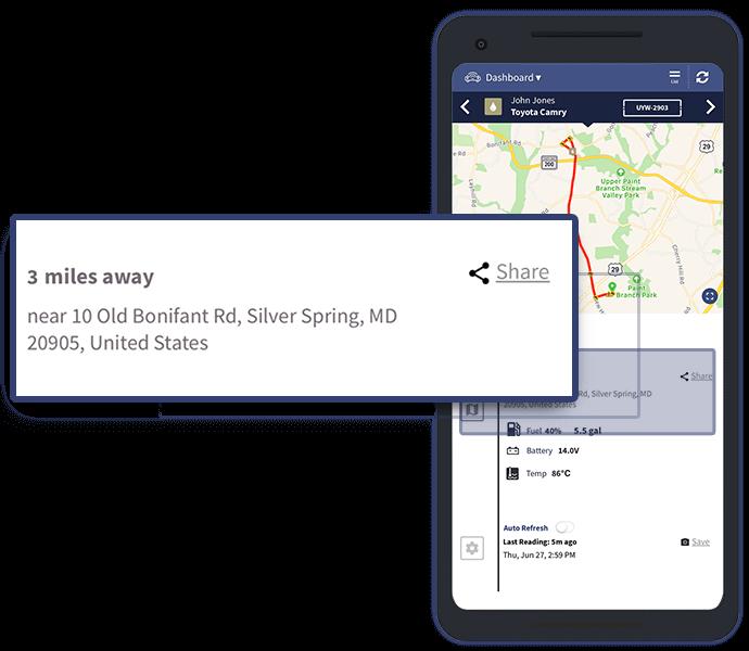 Vehicle Location - Veturilo App