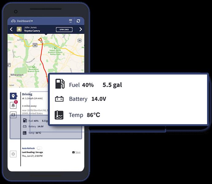Vehicle Status - Veturilo App