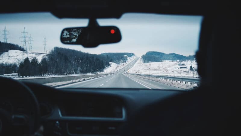 Safer driving in winter conditions