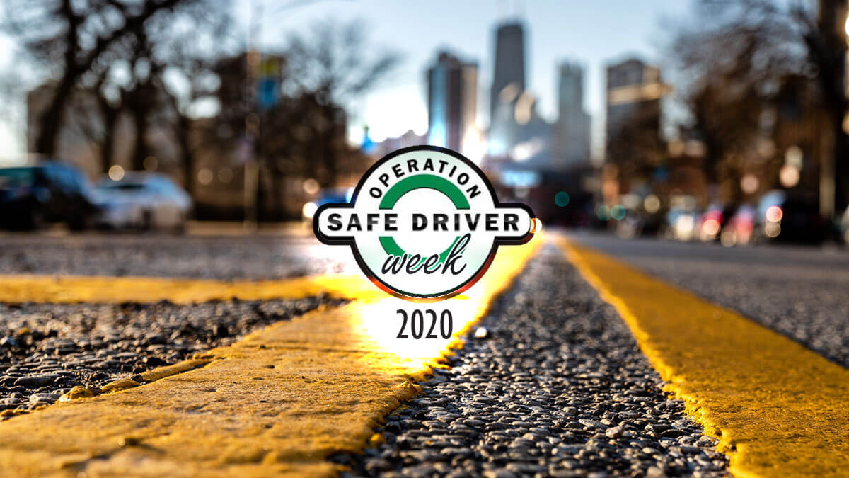Get ready for Operation Safe Driver Week