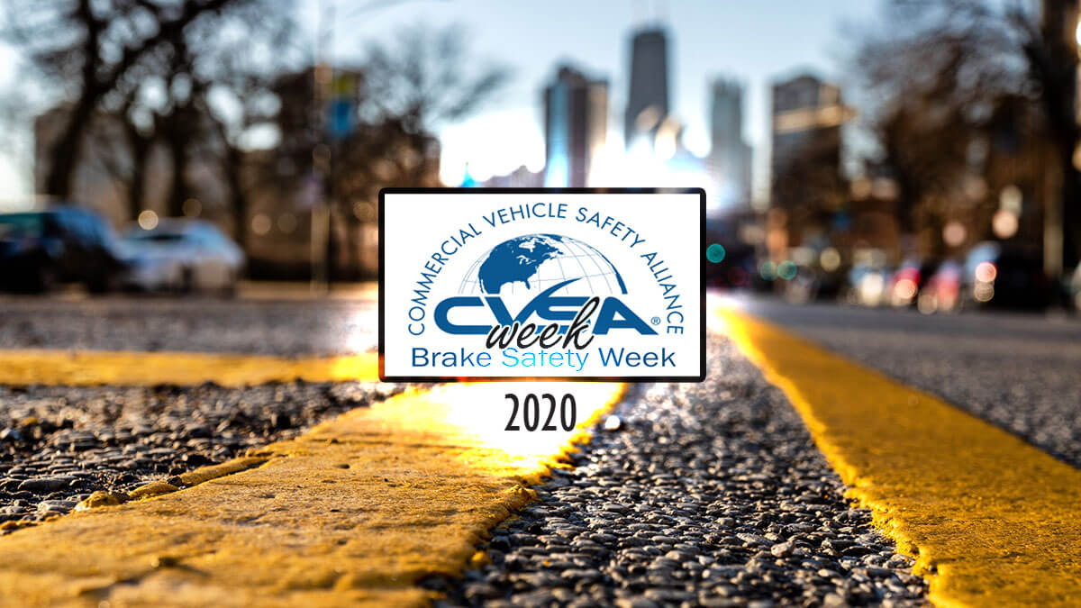 Slow down, Brake Safety Week is up ahead
