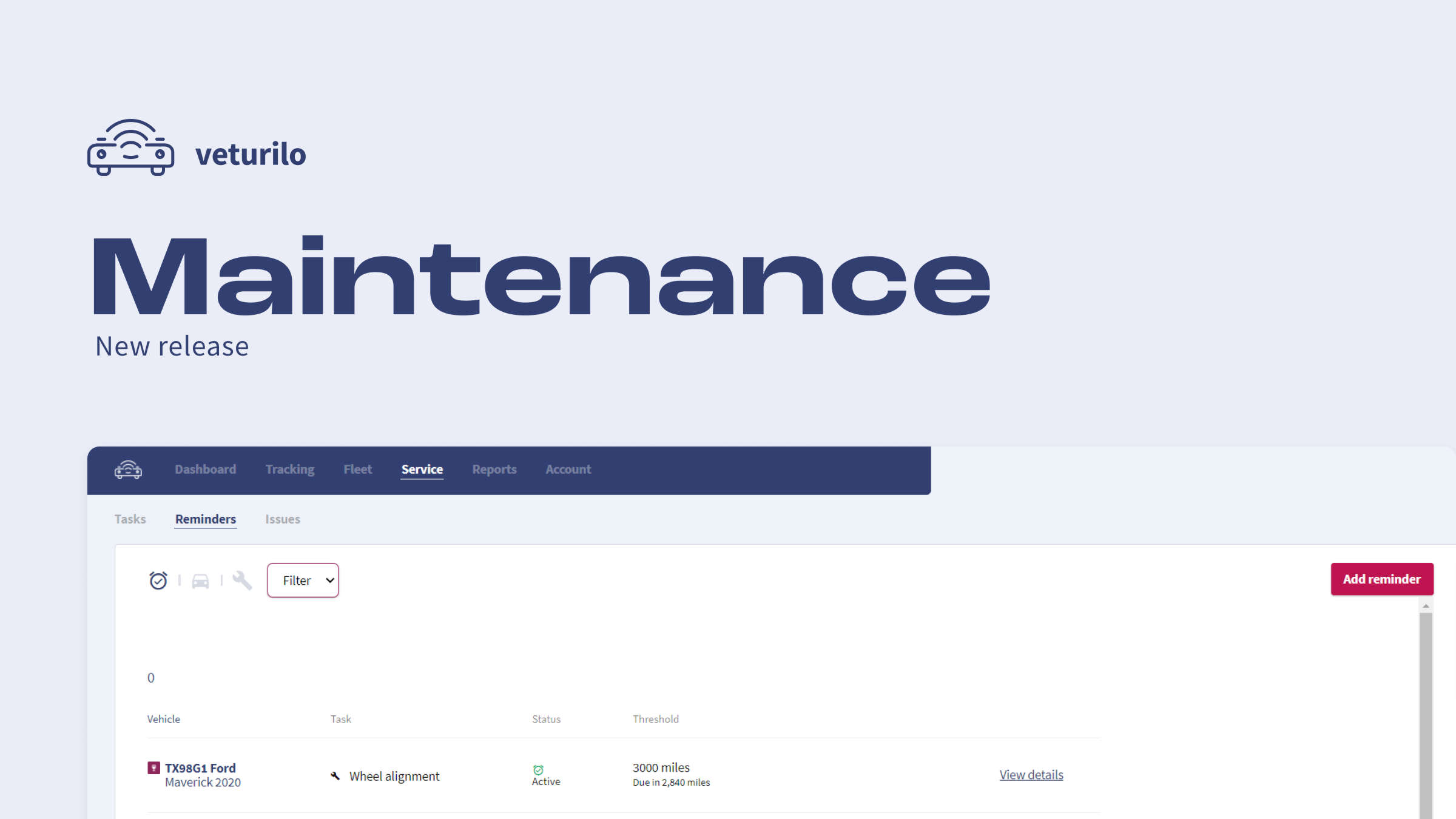 Maintenance tasks and maintenance reminders are here!